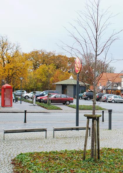 Posthustorvet, Rønde Kommune