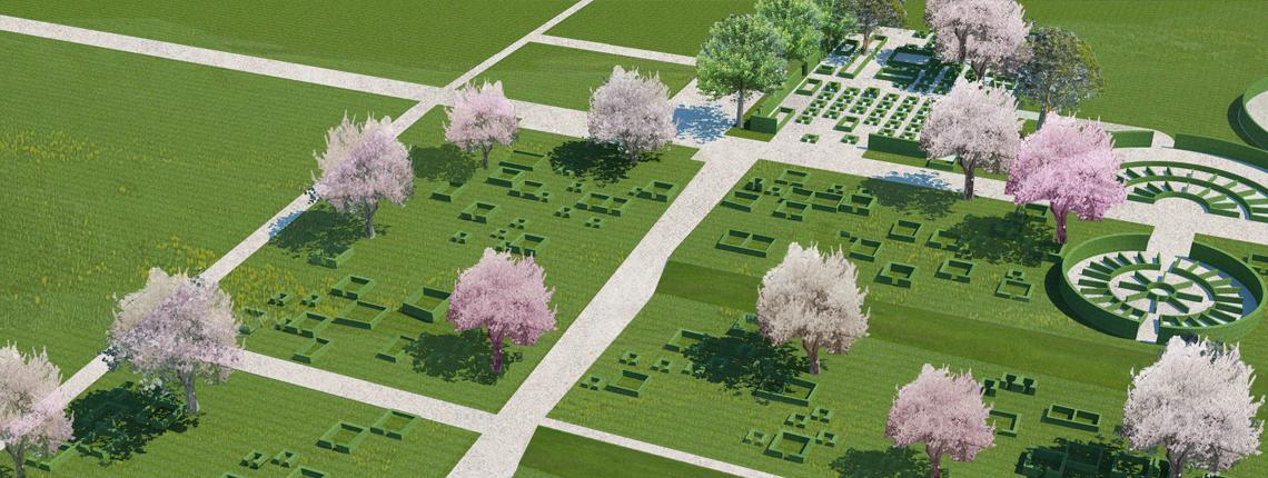 Silkeborg Vestre Kirkegård – fårefold og park