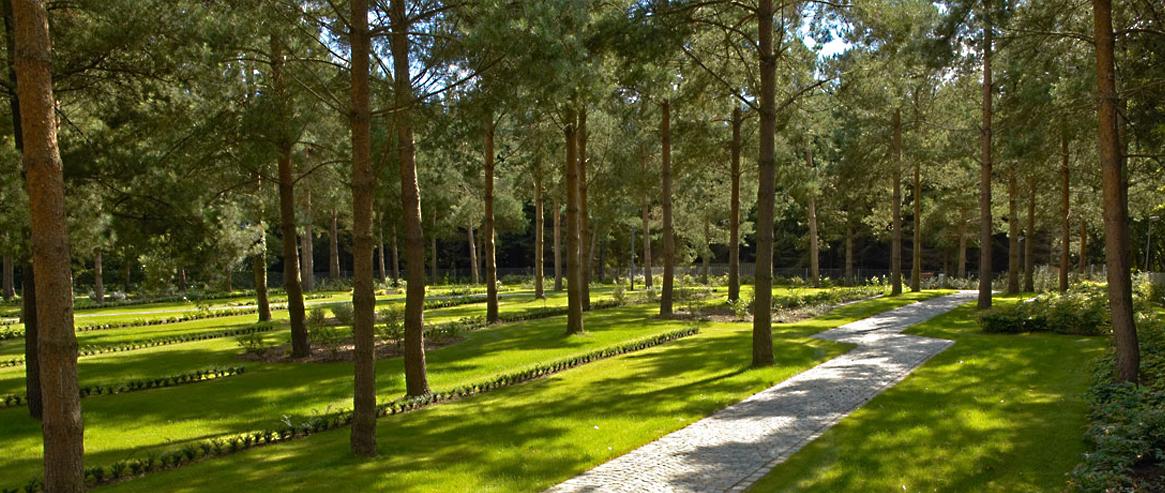 Holme Kirkegård – Skovafdeling
