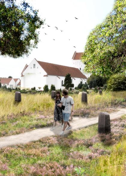 Hals kirkegård, udviklingsplan