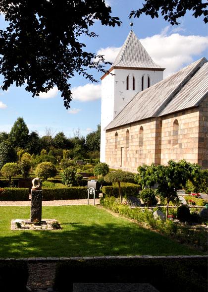 Måbjerg Kirkegård – Ny afdeling