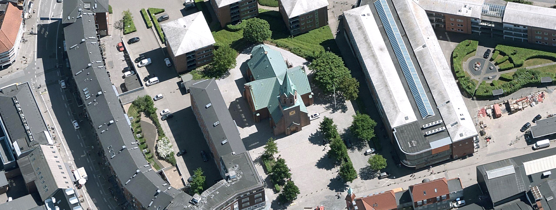 Silkeborg Kirke – Forplads