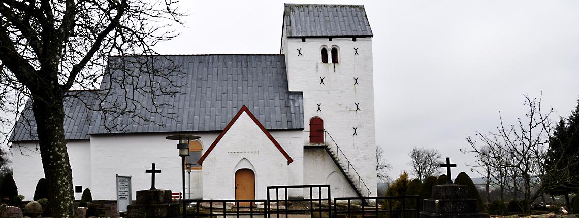 Vedslet Kirke – Indgang