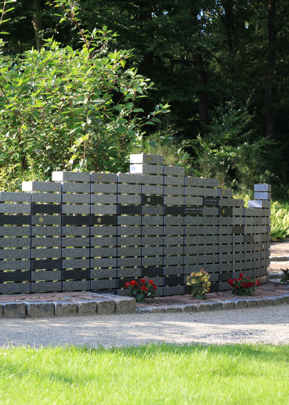 Silkeborg Vestre Kirkegård – Mindemur