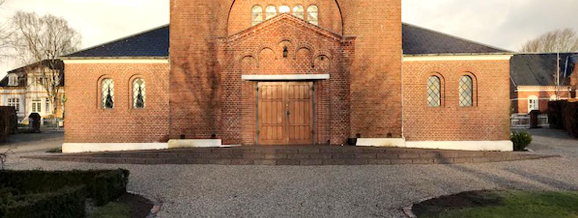 Arnbjerg Kapel – Indgang